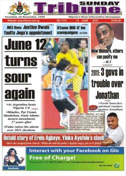 Nigeria Sunday Tribune