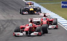 Ferrari in parata