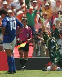 Baggio e Taffarel