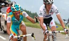 Alberto Contador e Andy Schleck