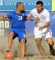 Pasquale Carotenuto, attaccante della nazionale italiana.