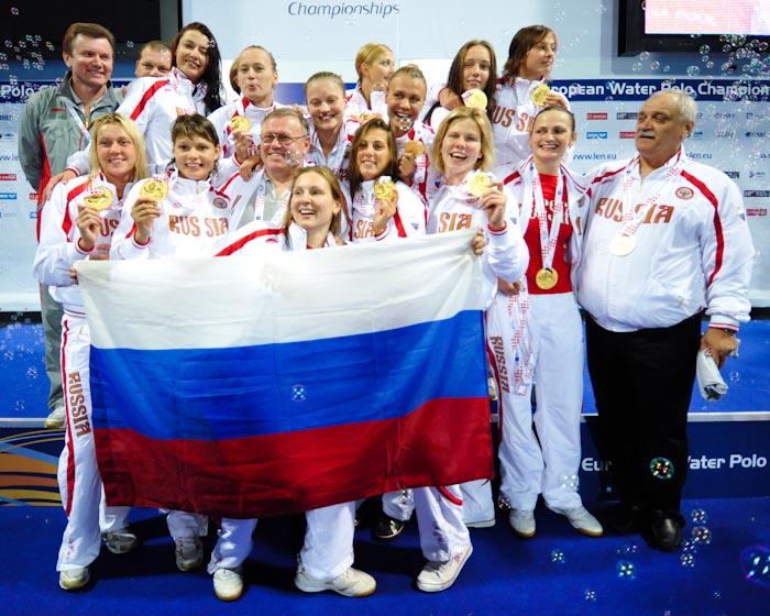 Terzo oro consecutivo per la Russia femminile (Deepbluemedia.eu/InsideFoto)