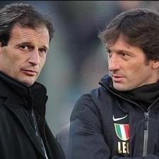 Massimiliano Allegri e Leonardo