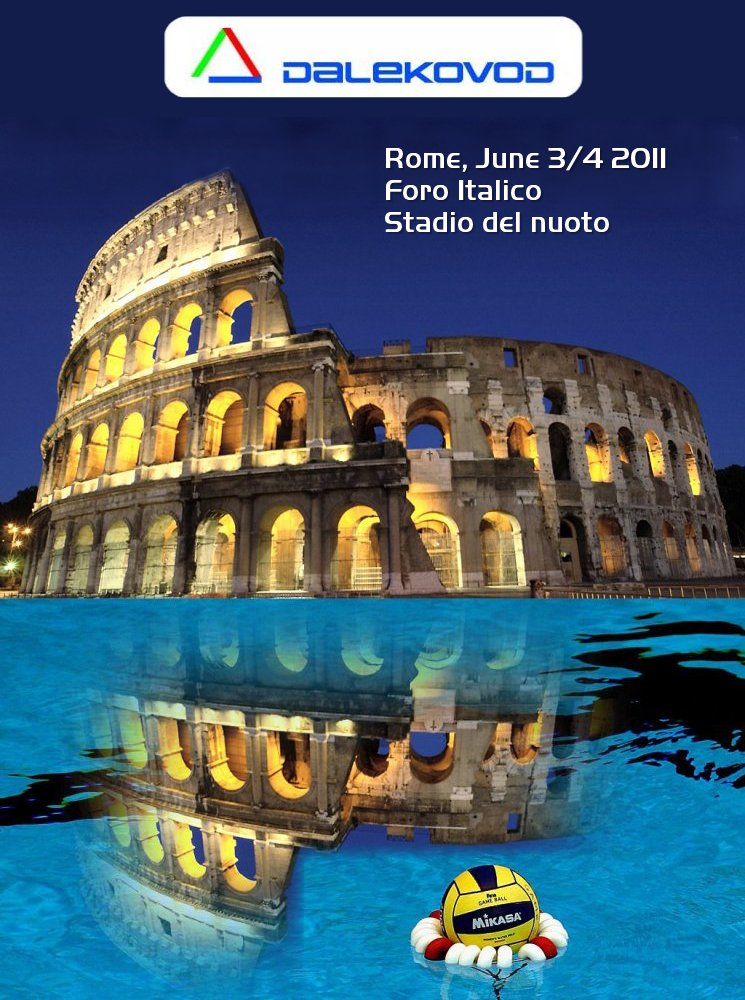 La locandina della Final Four di Roma